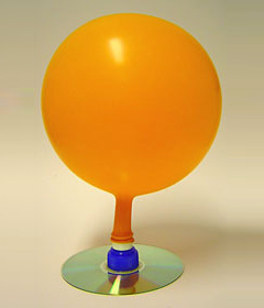 How to Make a Balloon Hovercraft By Michael M. - Sope Creek Sun