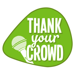 Thank your crowd