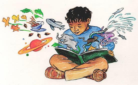 Boy-child-reading