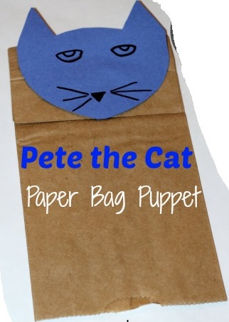Pete Paperbag Puppet Example