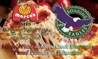 Sope Creek Partnership Promo